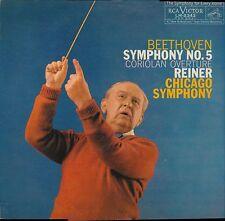 Beethoven Reiner Chicago Symphony 5 Coriolan RCA LM-2343 MONO