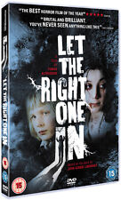 LET THE RIGHT ONE IN - DVD - REGION 2 UK