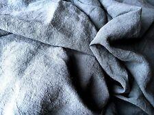 XXXL Bettlaken Lacken Überwurf 100% Leinen Stonewashed, Petrol, 225x240 cm