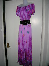 NEW WITH TAGS LADIES 12 14 16 MAXI DRESS SUMMER HOLIDAY BOHO PARTY NIGHT OUT M/L