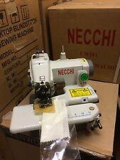 NEW NECCHI BLIND HEM FELLING SEWING MACHINE TABLE TOP MODEL..TOP QUALITY