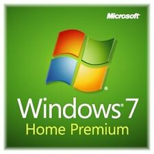 Windows 7 Home Premium 64 bit SP1 full install DVD with license key & RAM