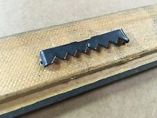 """No Nail/Nailless 2"""" Black Sawtooth Picture Frame Hangers - 100/pkg (Nailess)"""