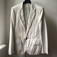 Very Cool LANVIN Cotton jacket Sz 48 Lucas Ossendrijver early collection