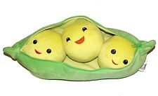 """Disney Store Exclusive Toy Story 3 Peas-in-a-Pod Zippered Stuffed Plush Toy 19"""""""