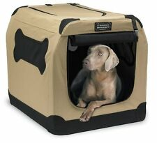 Petnation Pet Dog Cat Kennel Crate Portable Fold Soft Cage Indoor Outdoor Travel