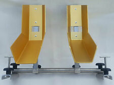 VWT5/T6 Bicycle stand for 2 bike rack in Interior Wheel width 5 cm-8,2cm gold