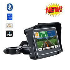 "4.3"" Inch Waterproof IPX7 GPS 8GB Bluetooth Motorcycle Car Bike Navi Navigation"