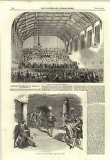 Apertura 1850 ST MARTIN'S HALL Long Acre NUOVO Play FIESCO Drury Lane Theatre