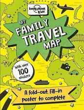 Lonely Planet Kids: My Family Travel Map by Lonely Planet Publications Staff...