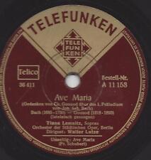 Tiana Lemnitz Sopran Dir. Walter Lutze singt Ave Maria von Bach und Schubert