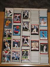 1998 Bowman Base, Chrome, Internatl Large  Baseball Lot Approximately 720 Cards