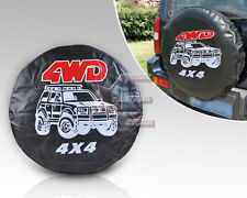 """New universal Spare Wheel Tire Tyre Soft Cover 31""""-32"""" 4WD"""