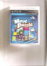 MOVE PUZZLE !!! 3 JEUX CULTES sur PS 3 MOVE : Jeu NEUF Blister