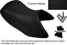 BLACK STITCH CUSTOM FITS BMW R 1200 GS FRONT 04-12 LEATHER STANDARD SEAT COVER