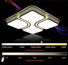 L68cm(58W)/ L53cm(40W)Schwarz/ Weiß- Voll Dimmbar LED Deckenlampe Deckenleuchte