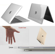 Clear Glossy Crystal Hard PC Case Transparent Cover For Macbook Pro Retina 13""