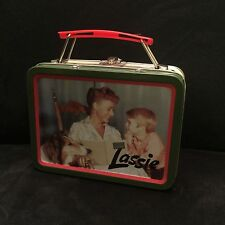 Vintage LASSIE MINI TIN METAL LUNCH BOX THE TIN BOX COMPANY