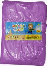 Magic Motion Moving Sand 1kg Play Pen Dry Children Toy Stays Dry PURPLE
