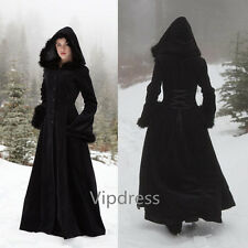 Noble Black Winter Warm Wedding Capes Wool Mix Velvet Long Bridal Cloaks Newest