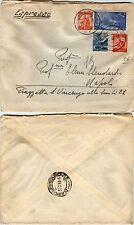 RISORGIMENTO 30 lire(589)+Democratica(559+560)-Espresso Siracusa 29.8.1948