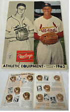 1963 Athletic Equipment Catalog ~ STAN MUSIAL Cover ~ St. Louis Cardinals
