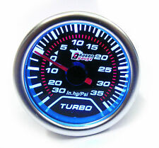 52mm universale affumicato TURBO BOOST GAUGE 35 Psi TURBO DIESEL TD TDi TDci