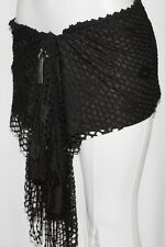 HIPPIE BOHO EMO GRUNGE GOTHIC NET LOLITA STEAM PUNK GYPSY Belly Dance Hip Scarf