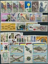 1983 Italia Repubblica annata completa 46 val. nuovi ** MNH spl