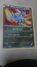 White Kyurem Pokemon Card RARE [BOUNDARIES CROSSED]