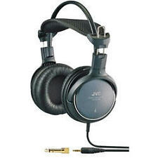 JVC HA-RX700 Precision Sound Stereo Full Size Over Ear DJ Style Headphones Black