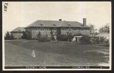 REAL PHOTO POSTCARD DOUSMAN WI/WISCONSIN MASONS MASONIC HOME CAMPUS 1930'S