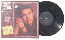 """ELVIS PRESLEY: Elvis 50th Anniversary Special Extended Play Edition 10"""" 45RPM"""