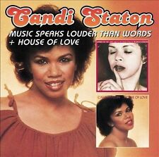 Music Speaks Louder Than Words/House of Love by Candi Staton (CD, Sep-2013, 2...