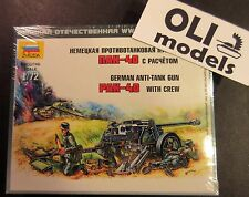 1/72 German Anti-Tank Gun PaK-40 with Crew - Zvezda 6257