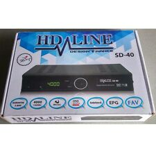 HD-LINE sd-40 DEMODULATOR Satellite FTA DECODER SCART/SCART/RCA