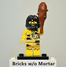 New Genuine LEGO Caveman Minifig with Club Series 1 8683
