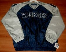 New York Yankees Pullover Jersey Large Navy Embroidered MLB