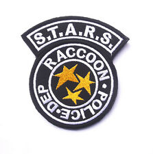 Resident Evil S.T.A.R.S Raccoon Police DEP Shoulder Patch     SJK  +  565