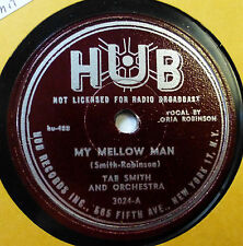 TAB SMITH 78 My mellow man / I can't believe that you're in..HUB  Doowop vs38