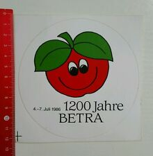 Aufkleber/Sticker: 1200 Jahre Betra (20061687)