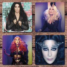 Cher Coaster Set NEW Dressed to Kill D2K Tour Closer to the Truth