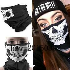 New Skeleton Ghost Skull Face Mask Biker Balaclava Costume Halloween Cosplay COD