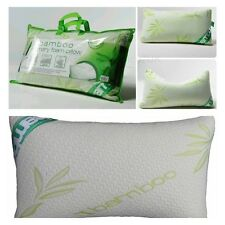 LUSSO Memory Foam Pillow in bambù testa ferma supporto collo Ortopedico x 1