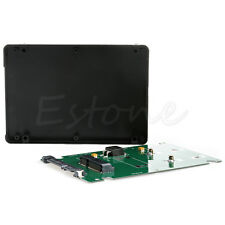 "Mini Pcie mSATA SSD to 2.5"" SATA3 Adapter Card with Case 7 mm Thickness"
