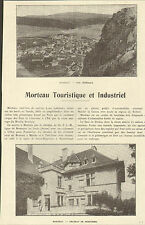 25 MORTEAU ARTICLE DE PRESSE PERTUSIER PANNETON 1923