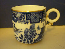 Royal Worcester Blue Willow Demi Tasse Coffee Cup only