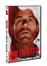 4 DVDs * DEXTER - STAFFEL / SEASON 5  # NEU OVP