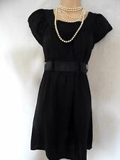 "Vintage inspired, black, tea dress size 8 ""Topshop"""