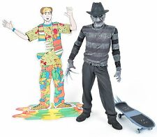 NECA A Nightmare On Elm Street 5 The Dream Child Black & White FREDDY KRUEGER 7""